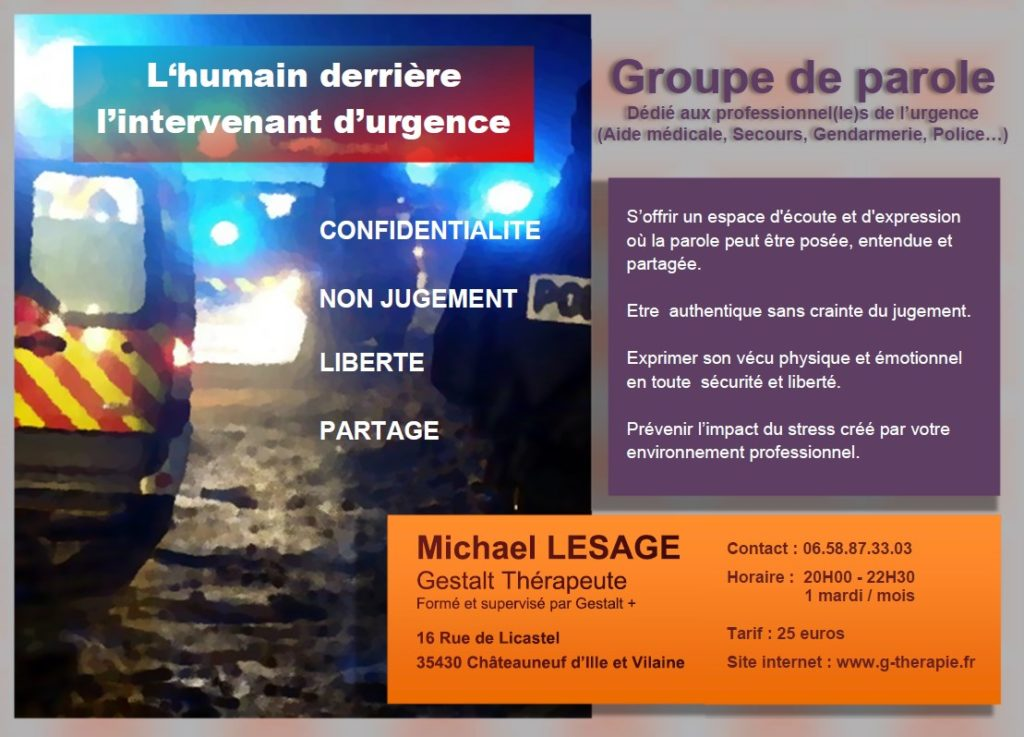 flyer groupe de parole