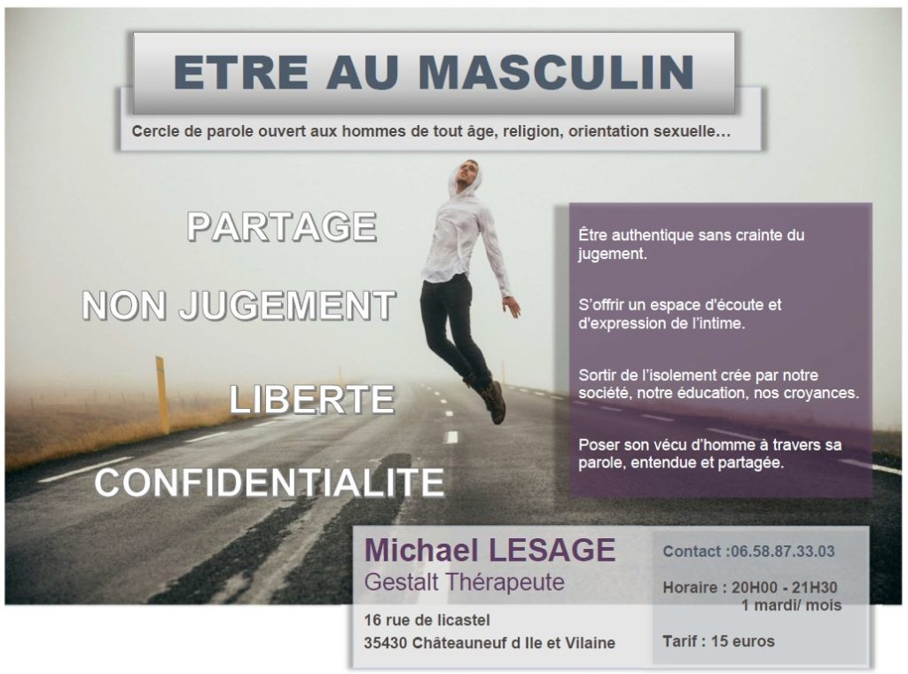 flyer groupe homme